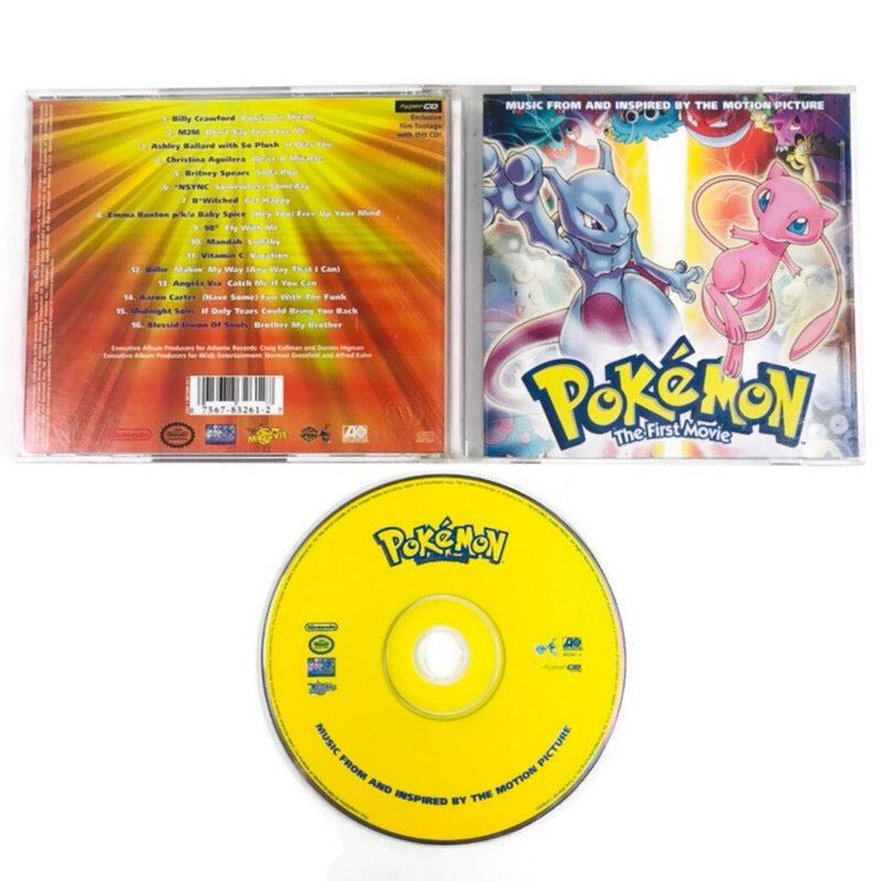 Pokemon The First Movie Music Soundtrack CD