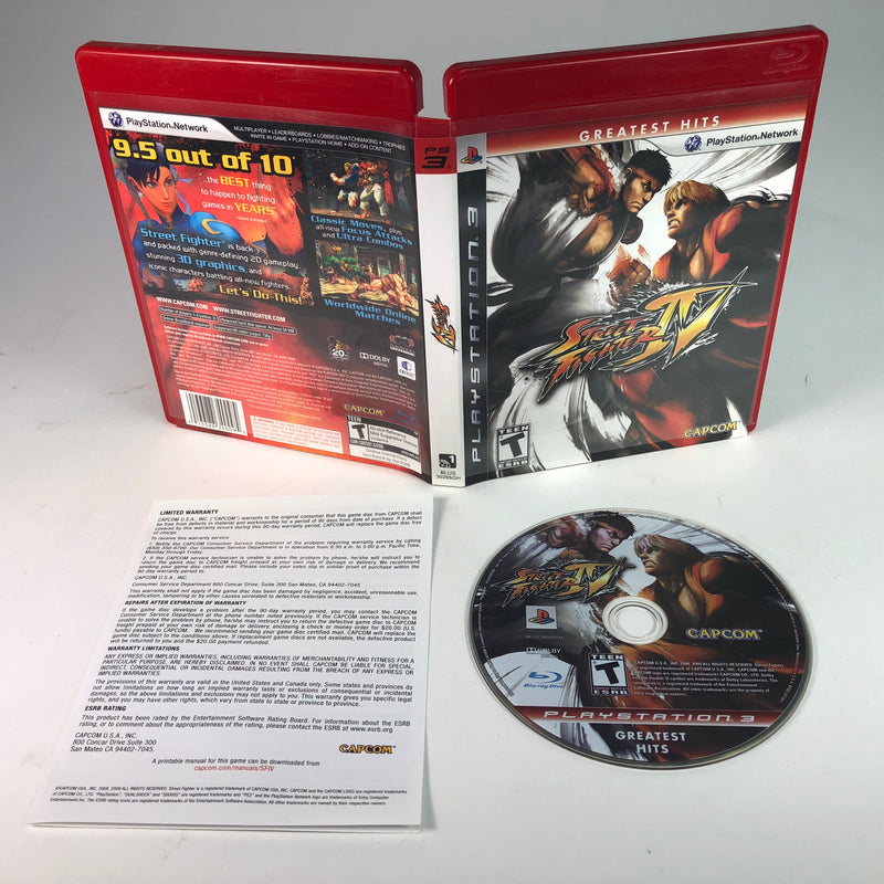 Street Fighter IV Sony Playstation 3 Ps3