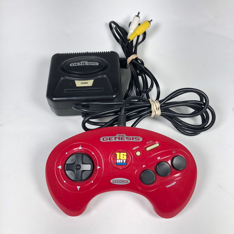 Radica SEGA GENESIS 16 Bit Power 2003 Red Controller Plug N Play TV Game