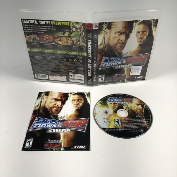 WWE Smackdown Vs Raw 2009 Sony Playstation 3 PS3