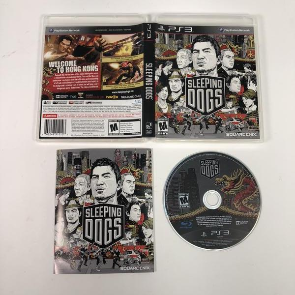 Sleeping Dogs Sony Playstation 3 PS3