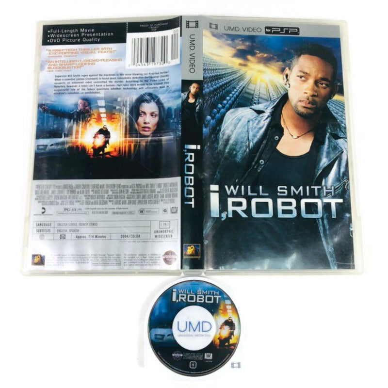 I, Robot Will Smith UMD PSP