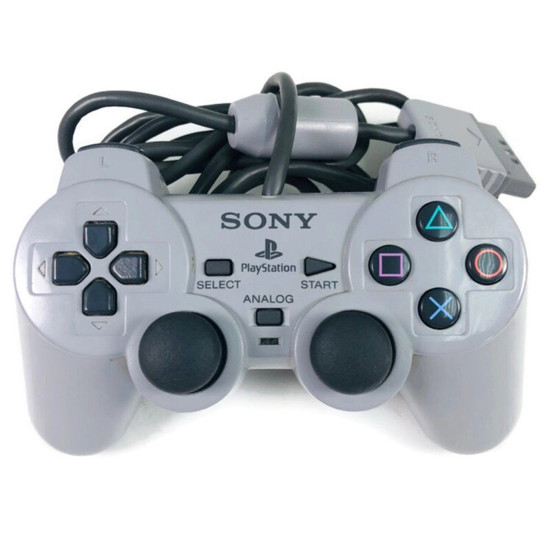 Sony Playstation 1 PS1 Dual Shock Analog Wired Controller SCHP-1200