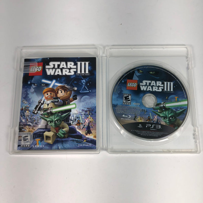 Lego Star Wars III (3) Sony Playstation 3 PS3 Complete