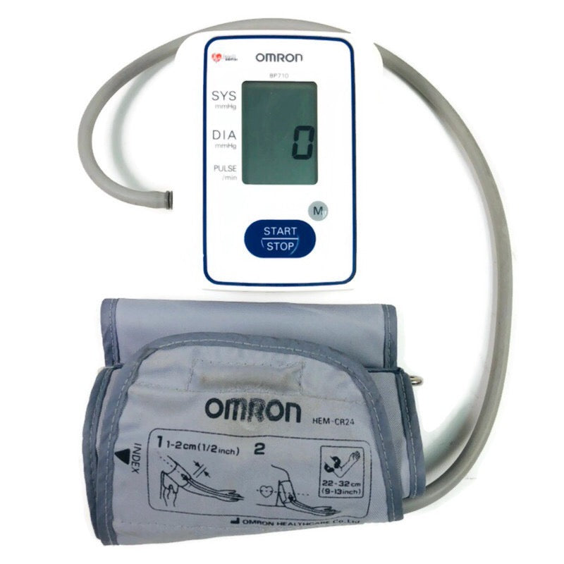 Omron Automatic Arm Blood Pressure Monitor BP710