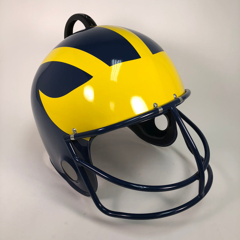 University Of Michigan U of M Tailgate Barbeque BBQ Table Grill Helmet