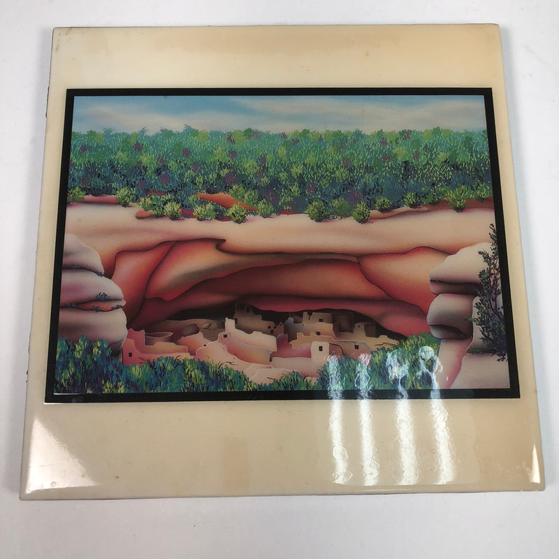 "Robert Arnold A Dwellings Heart Harmony Design 8"" x 8"" Tile Art"