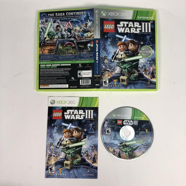 Lego Star Wars III (3) The Clone Wars Microsoft Xbox 360