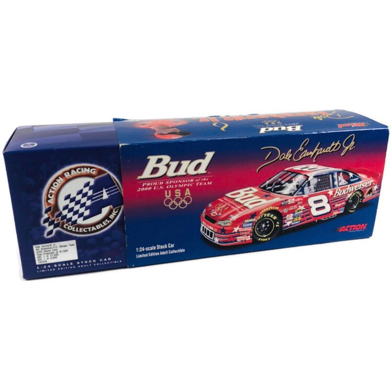 Dale Earnhardt Jr #8 Budweiser US Olympic Team 2000 Monte Carlo 1:24 NASCAR Stock Car 100256