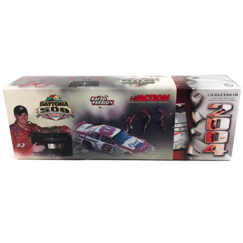 Dale Earnhardt Jr #8 Born On Date Daytona Win Raced Version 2004 Monte Carlo 1:24 NASCAR Stock Car
