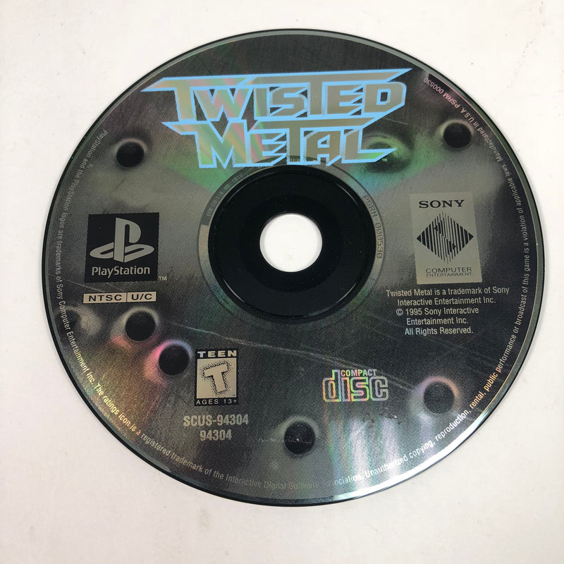 Twisted Metal Sony Playstation 1 PS1 Disc Only