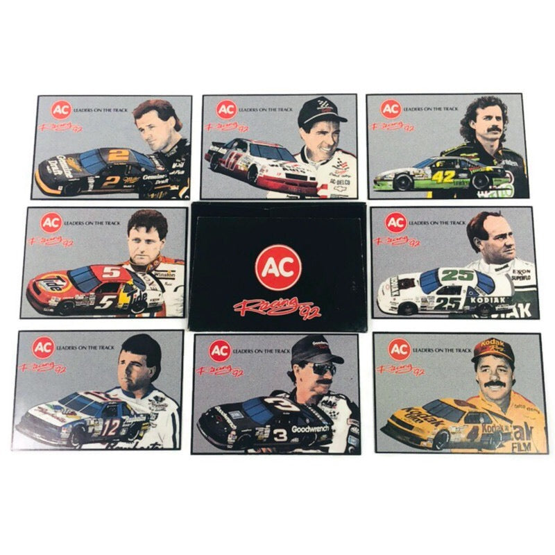 AC Racing 1992 (92) Leaders On The Track 8 Card Set