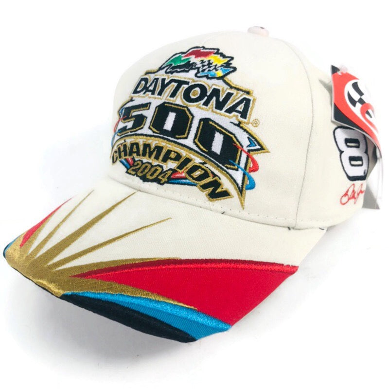 Dale Earnhardt Jr #8 NASCAR 2004 Daytona 500 Champion Hat