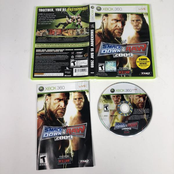 WWE Smackdown Vs Raw 2009 Microsoft Xbox 360