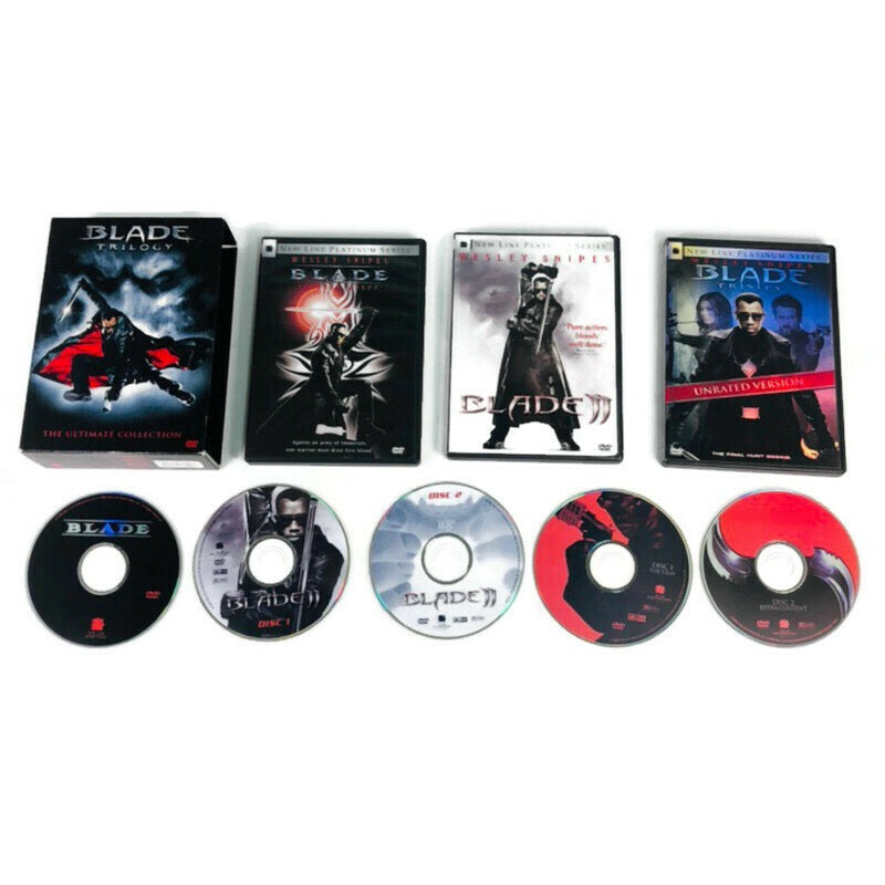 Blade Trilogy The Ultimate Collection DVD