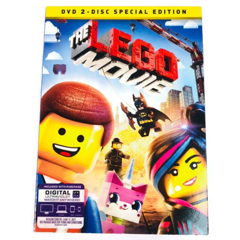 The Lego Movie 2 Disc Special Edition DVD