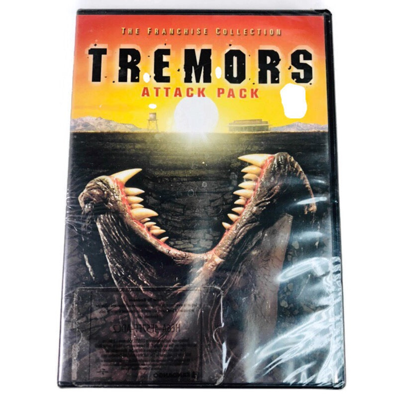 Tremors Attack Pack The Franchise Collection DVD