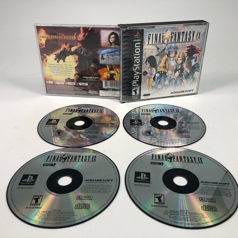 Final Fantasy IX Sony Playstation 1 PS1 4 Discs