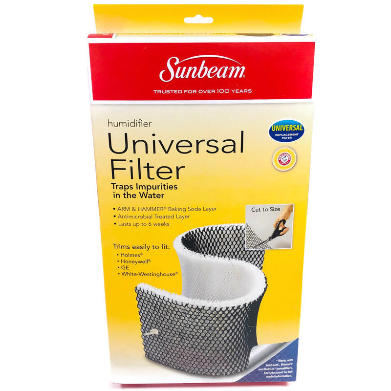 Sunbeam Humidifier Universal Replacement Filter SWFU003