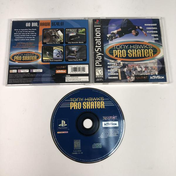 Tony Hawks Pro Skater Black Label Sony Playstation 1 PS1