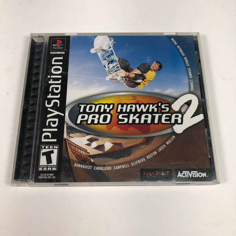 Tony Hawks Pro Skater 2 Sony Playstation 1 PS1 Complete