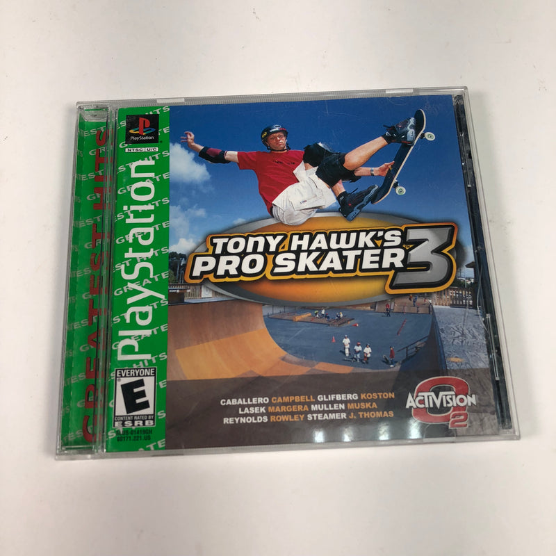 Tony Hawks Pro Skater 3 Greatest Hits Sony Playstation 1 PS1