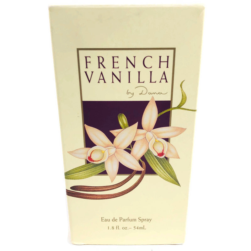French Vanilla By Dana 1.8 Fl Oz Eau De Parfum Spray