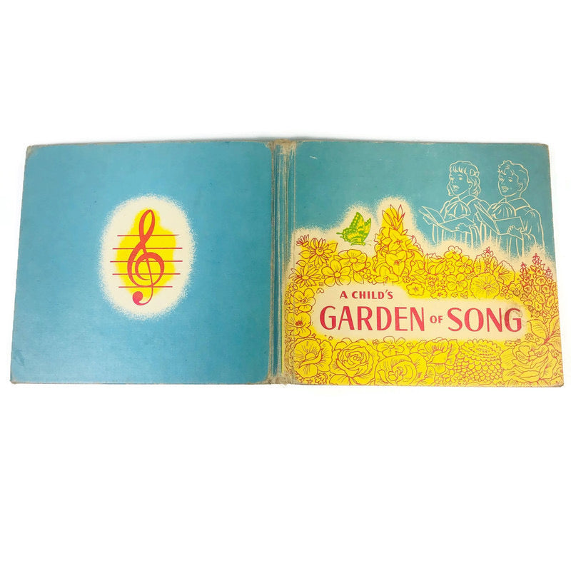 A Childs Garden Of Song 1949 Music Songbook