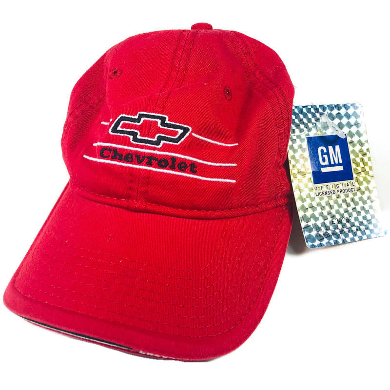Chevrolet General Motors GM Cruisin Sports Red Adjustable Hat