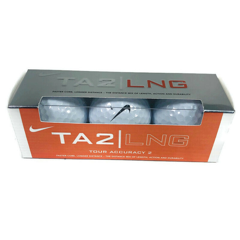 Nike TA2/LNG Tour Accuracy 2 3 Pack Golf Balls