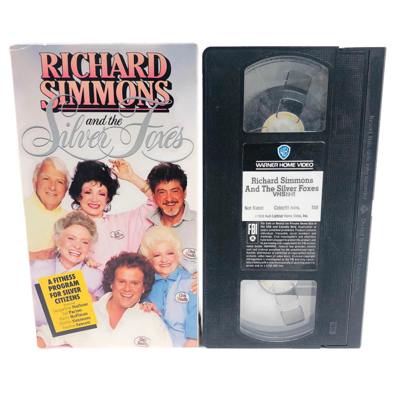 Richard Simmons And The Silver Foxes Fitness Program For Silver Citizens VHS