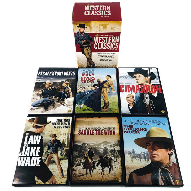 Warner Home Video Western Classics Collection DVD Set
