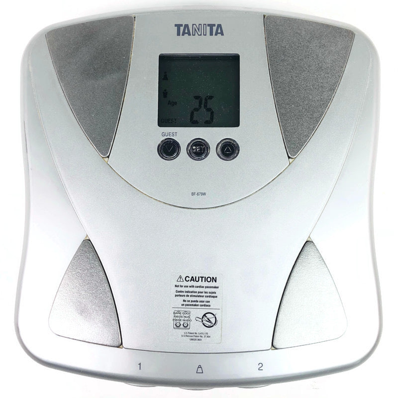 Tanita Body Fat / Water Monitor Duo Scale BF-679W