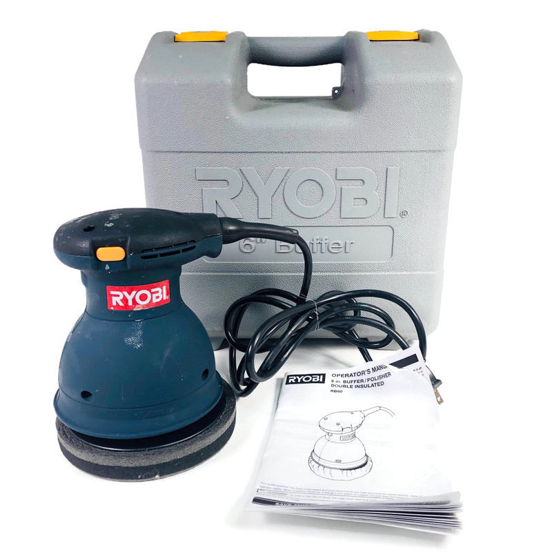 "Ryobi 6"" Orbital Polisher Buffer RB60"