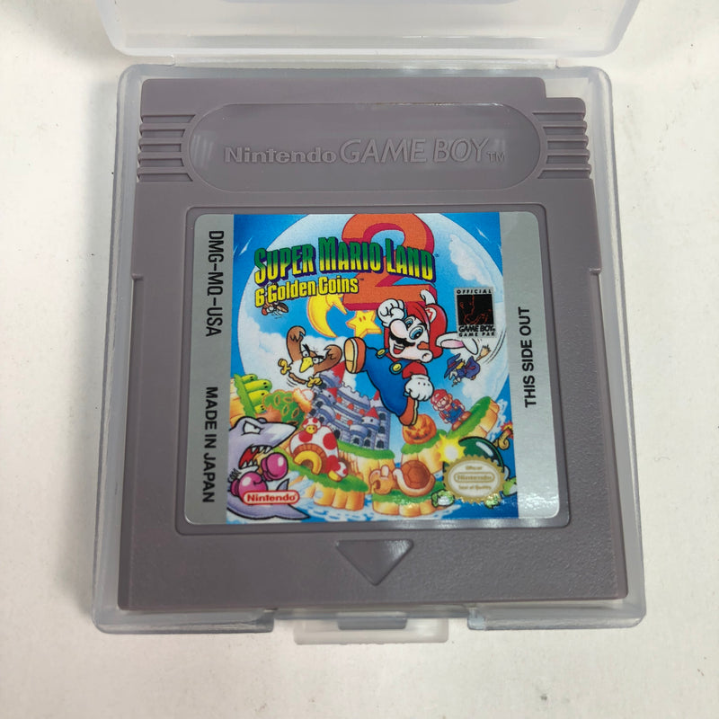 Super Mario Land 2 : 6 Golden Coins Nintendo Game Boy GB w/ Manual & Case