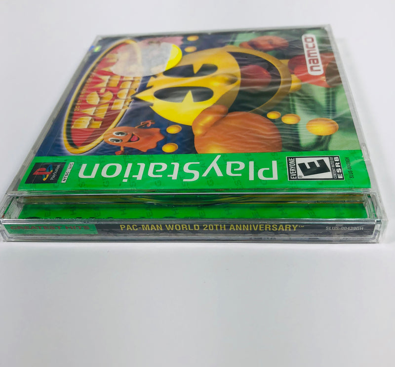 New Pacman World Sony Playstation 1 PS1 Sealed