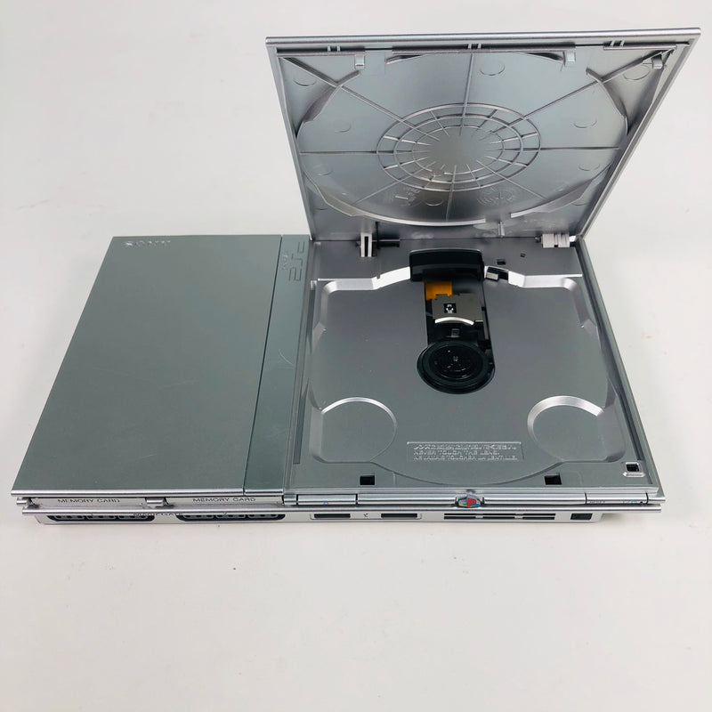Sony Playstation 2 PS2 Silver Slim Console System SCPH-77001