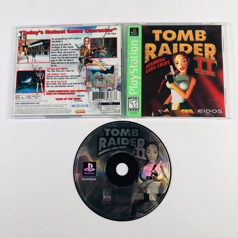 Tomb Raider Starring Laura Croft II (2) Sony Playstation 1 PS1
