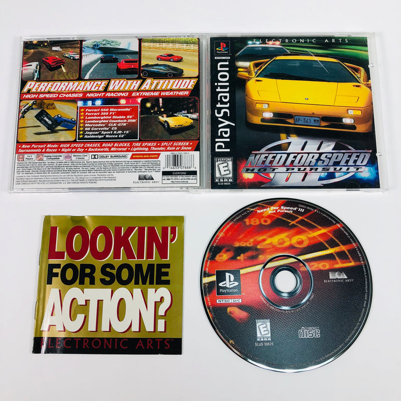 Need For Speed Iii Nfs 3 Hot Pursuit Black Label Sony Playstation