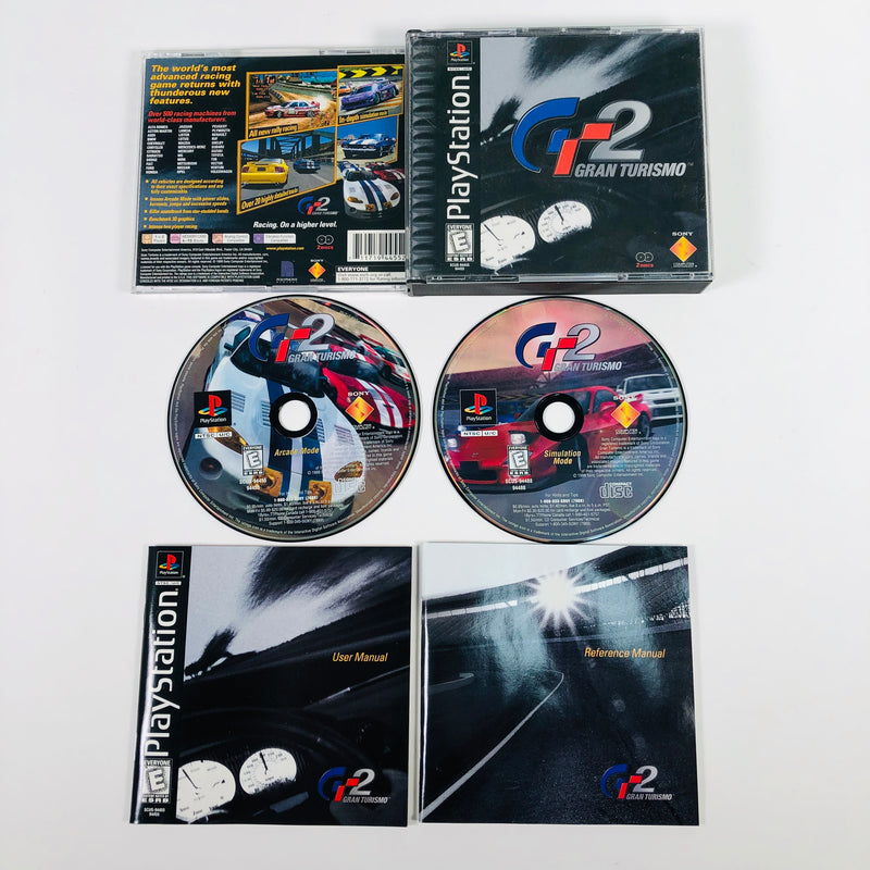 Gran Turismo GT 2 Black Label Sony Playstation 1 PS1