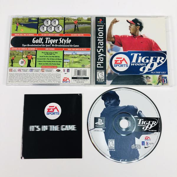 Tiger Woods 99 Black Label Sony Playstation 1 PS1