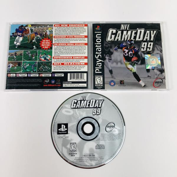 NFL Gameday 99 Black Label Sony Playstation 1 PS1