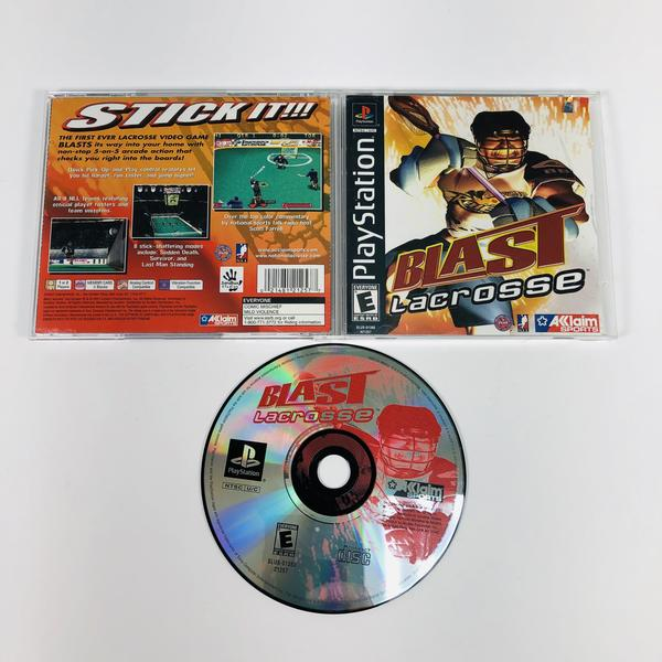 Blast Lacrosse Black Label Sony Playstation 1 PS1