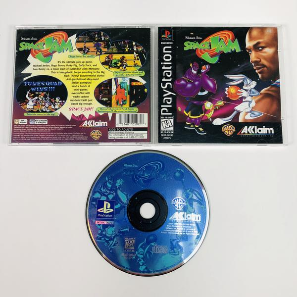 Space Jam Black Label Sony Playstation 1 PS1