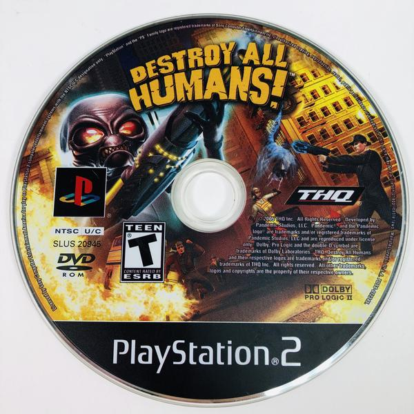 Destroy All Humans Black Label Sony Playstation 2 PS2