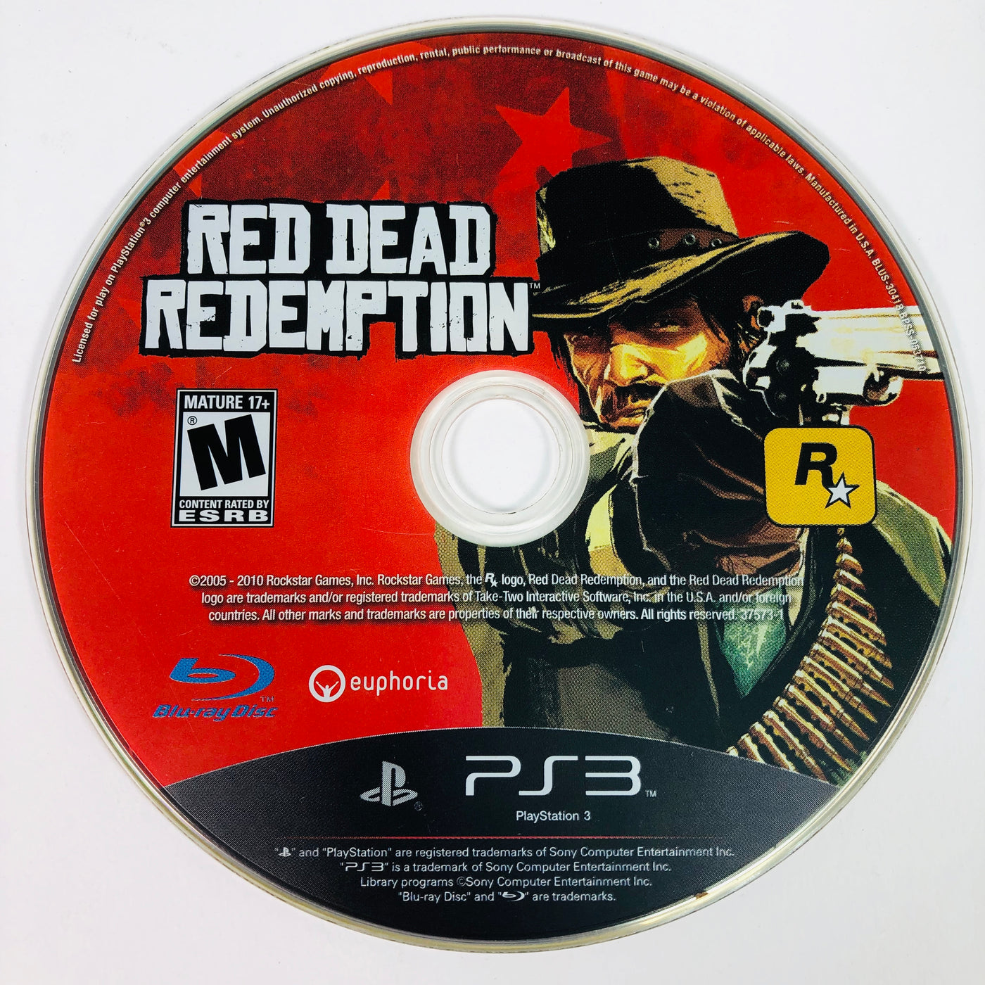 Red Dead Redemption Sony Playstation 3 PS3