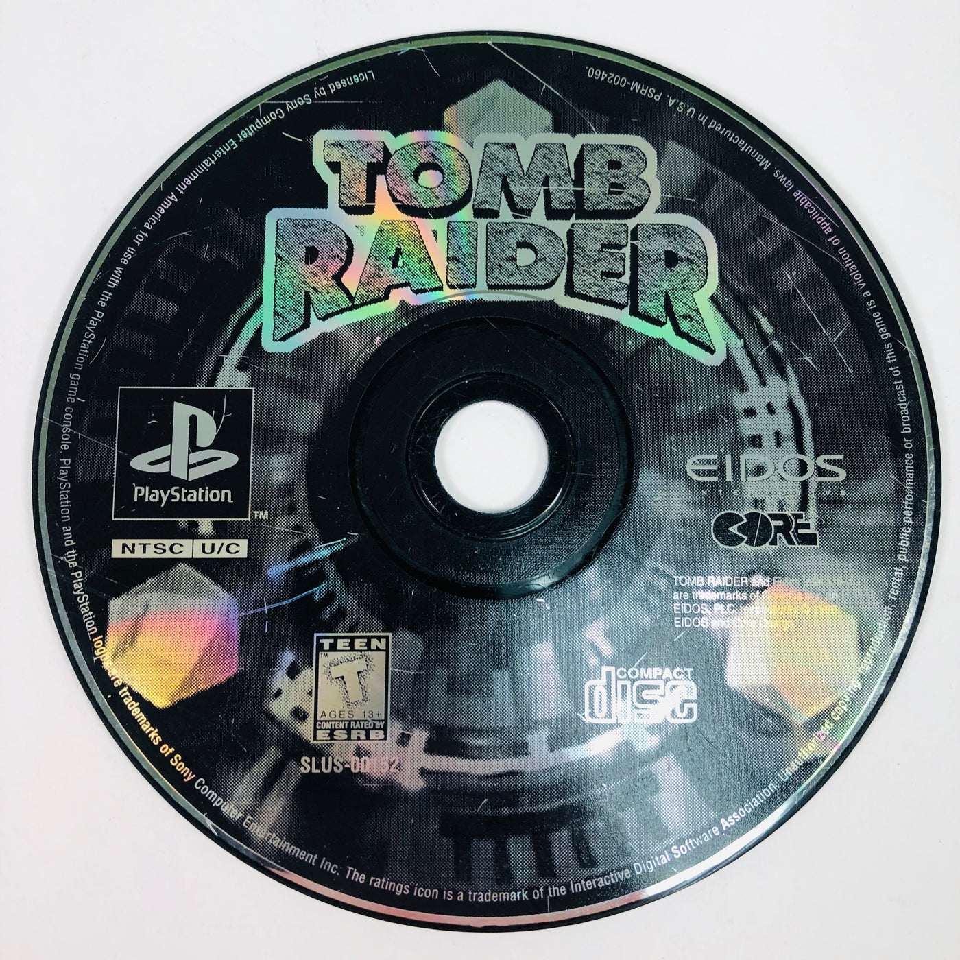 Tomb Raider Greatest Hits Sony Playstation 1 Ps1 M15sales Com