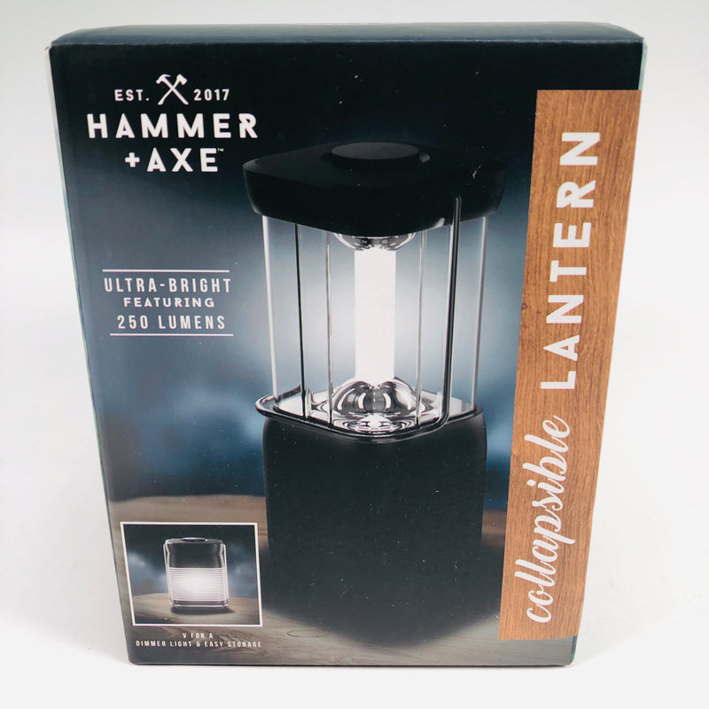 Hammer + Axe Ultra Bright 250 Lumens Collapsible Lantern