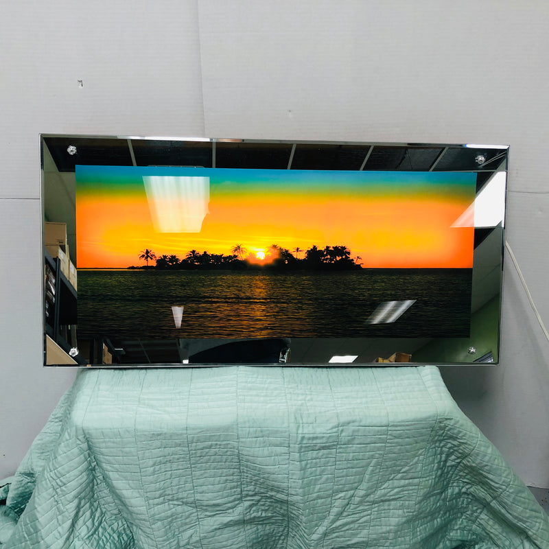 Sunset / Sunrise Tropical Wave Sound Effect Motion Wall Hanging Decoration