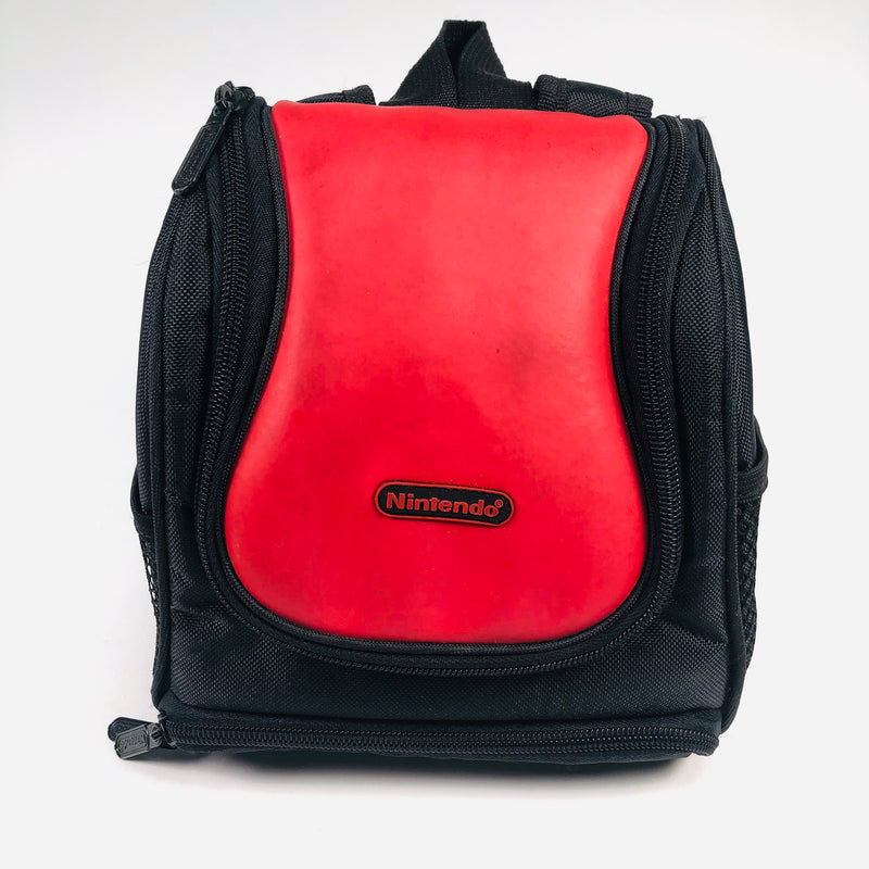 Nintendo Game Boy Advance GBA Red Travel Carry Bag Backpack